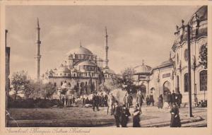Stamboul : Mosquee Sultan Mehmed, Turkey, 1910-1920s