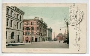 Granville Street Vancouver British Columbia Canada 1906 postcard