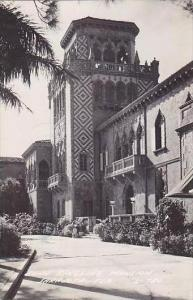 Florida Sarasota Ringling Mansion 1948 Real Photo RPPC