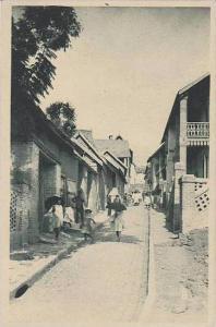 Madagascar Fianarantsoa La Rue Du Rova
