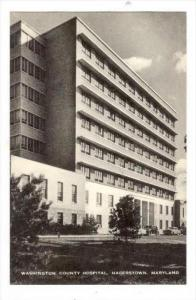 Washington County Hospital, Hagerstown , Maryland, 30-50s