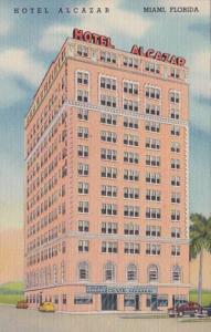 Florida Miami Hotel Alcazar Curteich
