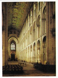 Ely Cathedral an Anglican Church the Nave Gothic Style England UK