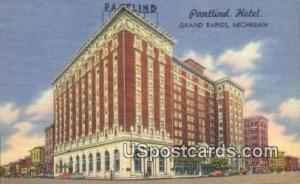 Pantlind Hotel Grand Rapids MI Unused