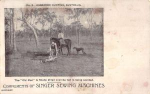 Australia hunters by Singer Sewing Machines antique pc ZA440599