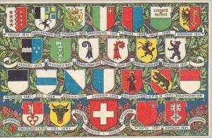 Switzerland Coat Of Arms Cities