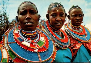 Africa Kenya Masai Woman