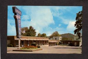KY Eplees Eplee's Motel Berea Kentucky Cumberland Mountains Postcard
