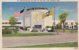 NEW YORK CITY, New York, 1930's; The Administration Building, New York World'...