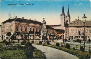 Serbia Subotica Maria-Theresianopel Szabadka Vojvodina Szent Istvan ter
