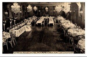 New York City Hotel Piccadilly Georgian Room