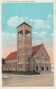 COLUMBUS , Ohio , 10-20s ; St. Aloysius Church