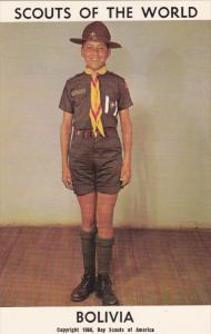 Boy Scouts of the World, BOLIVIA, 1960´s