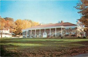 Hopwood Pennsylvania~Jumonville Training Center~Washington Lodge~1950s Postcard