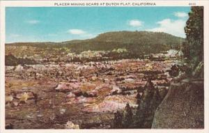 California Placer Mining Scars At Dutch Flat