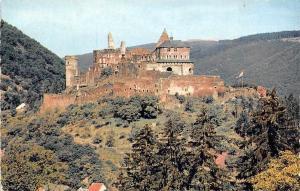 Luxembourg Vianden - Le Chateau, Castle 1957
