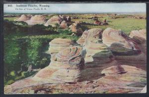 Sandstone Pinacles,WY BIN