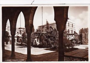 Syria Damascus Palais Azem Real Photo