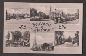 Multi View Of Harrow, England - Unused