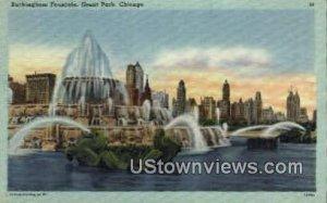 Buckingham Fountain - Chicago, Illinois IL