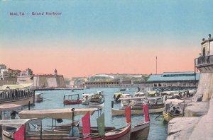 MALTA, 1900-10s; Grand Harbour
