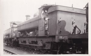 GWR Class 0-6 Opt Number 947 Train Real Photo Postcard