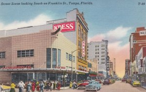 Florida Tampa Franklin Street Looking South sk5671
