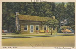 GATLINBURG, Tennessee, 1930-40s; Ivy & Bill's Restaurant, Rooms on the River