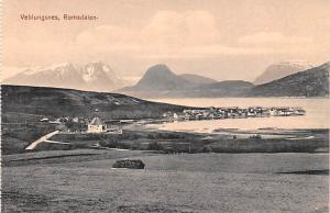 Norway Old Vintage Antique Post Card Veblungsnes Romsdalen Unused