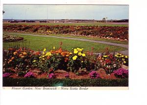 Flower Gardens, Nova Scotia, New Brunswick Border
