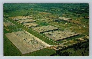 Louisville KY-Kentucky, General Electric's Appliance Park Aerial Chrome Postcard
