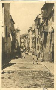 Nice, Le vieux Nice, 1946 used Postcard