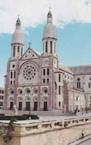 Catholic Roman Cathedral , Port-au-Prince , Haiti , 40-60s
