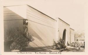 RPPC Le Musee de Cire - Wax Museum - Montreal QC, Quebec, Canada