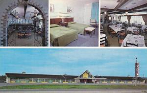 4-views,  Motel Le Provence,  Thetford Mines,  Quebec,  Canada,  PU_1983