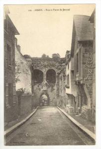 Rue Et Porte Du Jerzual, Dinan (Côtes-d´Armor), France, 1900-1910s
