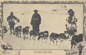 NORTH POLE, 1900-10s; Provision Dog Train