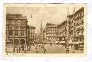 Wien , karntnerstrasse, Austria, PU-1925
