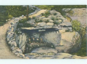 Linen ROCK CITY GARDENS SHELTER ROCK Lookout Mountain - Chattanooga TN AF6851