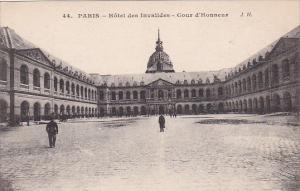 France Paris Hotel des Invalides Cour d'Honneur