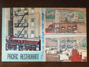 1947 Pacific Bar Chinese Restaurant, 30 Pell St., New York, NY D21