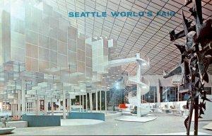 Washington Seattle World's Fair Interior Of Washington State Coliseum