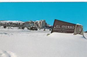 RAMAH, New Mexico, 40-60´s; El Morro National Monument, U.S. Highway 53