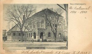 1901 Lithograph Postcard; Chittenden Library, Yale University, New Haven CT