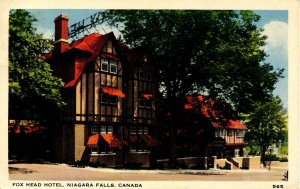 Canada - ON, Niagara Falls. Fox Head Hotel