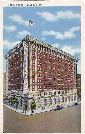 Ohio Toledo Hotel Secor Albertype