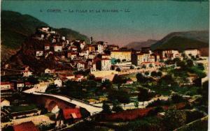 CPA CORSE Corte- La ville et la Riviére. (711588)