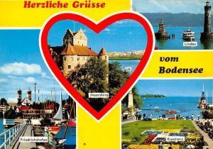 Herzliche Gruesse vom Bodensee Meersbuerg Lindau Friedrichshafen Konstanz