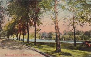 Missouri Saint Louis Lake And Drive O Fallon Park