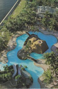 Aerial View, Swimming Pool, Westin Philippine Plaza, MANILA, Philippines, 50-...